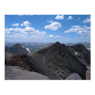 Colorado Rocky Mountains Moonscape Postcard