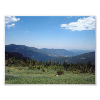 Colorado Rocky Mountains Panorama Photo Print