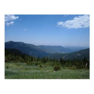 Colorado Rocky Mountains Panorama Postcard