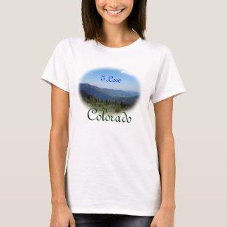 Colorado Rocky Mountains Panorama T-Shirt