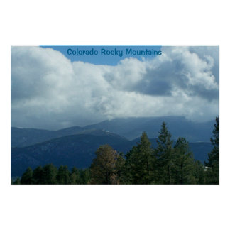 Colorado Rocky Mountains Poster