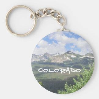 Colorado scenic keychain