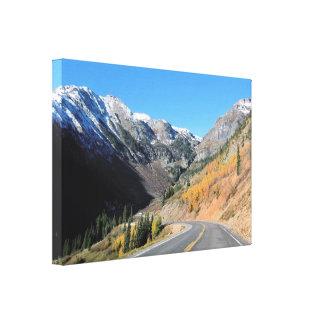 Colorado Scenic Premium Wrapped Canvas (Gloss)