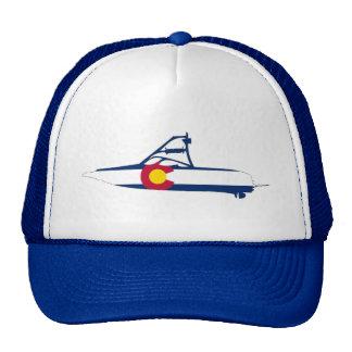 Colorado Ski Boat Trucker Hat