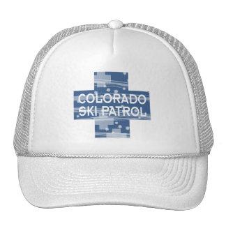 Colorado Ski Patrol Mesh Hat