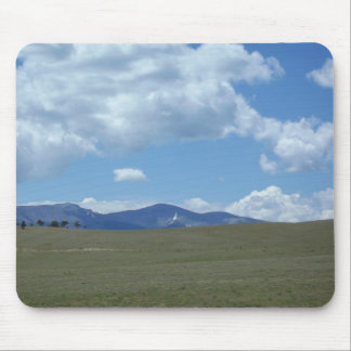 Colorado Skies over Mountains Mouse Pad