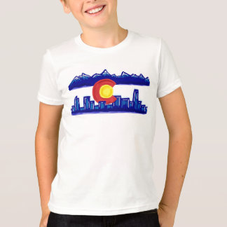 Colorado skyline boys shirt