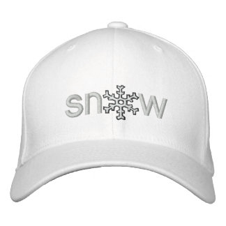Colorado Snow Embroidered Baseball Cap