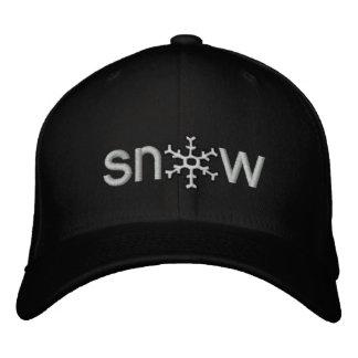 Colorado Snow Embroidered Cap