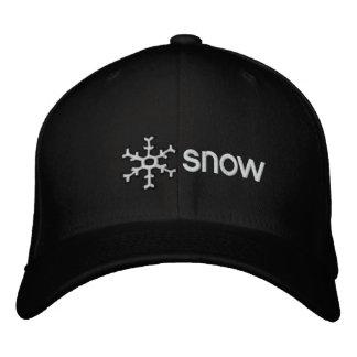 Colorado Snow Embroidered Hats