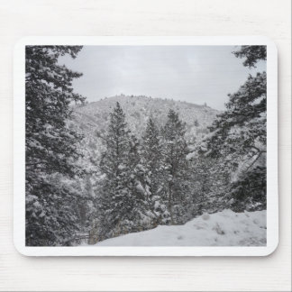 Colorado Snow Mouse Pad