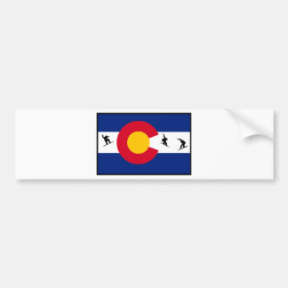colorado snowboard bumper sticker