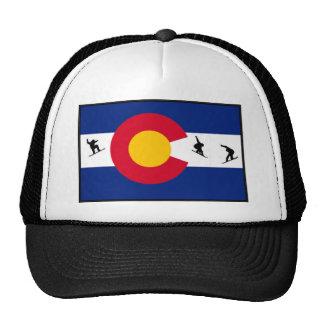 colorado snowboard mesh hat