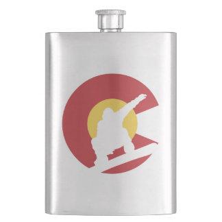 Colorado Snowboard Flask