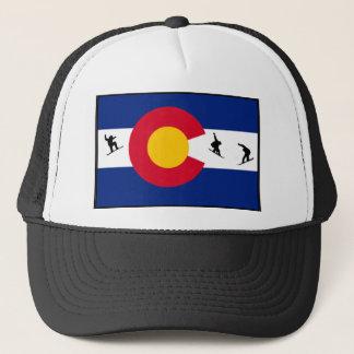 colorado snowboard trucker hat