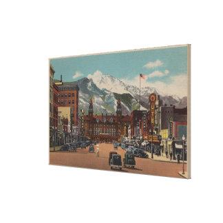 Colorado Springs, CO Canvas Print
