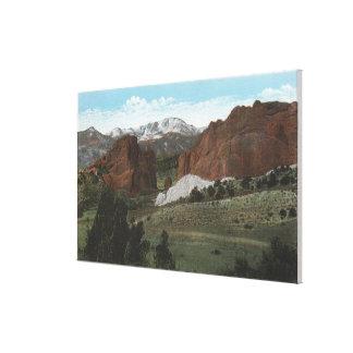 Colorado Springs, Colorado 3 Canvas Print