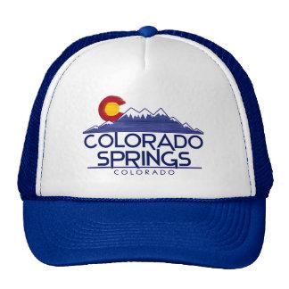 Colorado Springs Colorado wood mountains hat