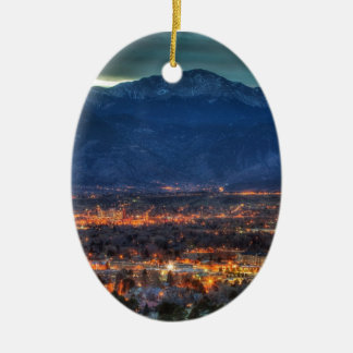Colorado Springs Lights Christmas Ornament