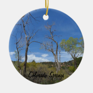 Colorado Springs Park Christmas Ornament