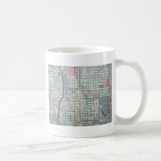 COLORADO SPRINGS Vintage Map Coffee Mug