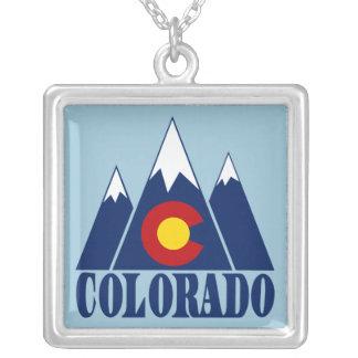 Colorado Square Pendant Necklace