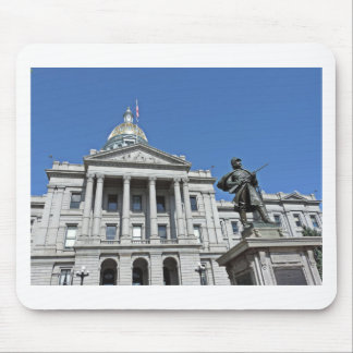 Colorado State Capitol Building Mouse Pad