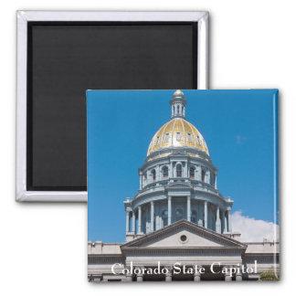 Colorado State Capitol Dome and Portico Magnet