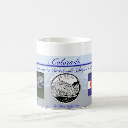 Colorado State Commemorative Coffee Mug