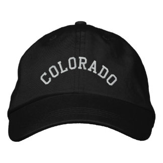 Colorado State Embroidered Embroidered Hat