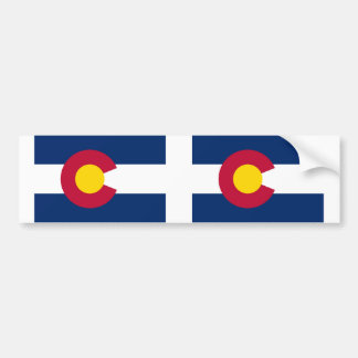 Colorado State flag Bumper Sticker
