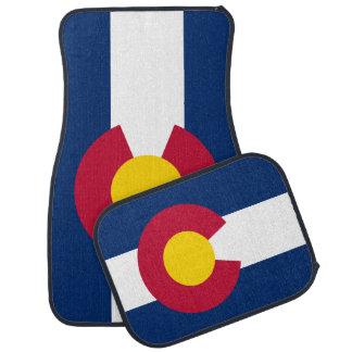 Colorado State Flag Car Mat