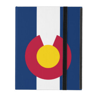 Colorado State Flag Cover For iPad
