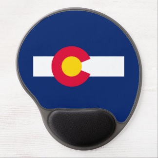 Colorado State Flag Design Gel Mouse Pad