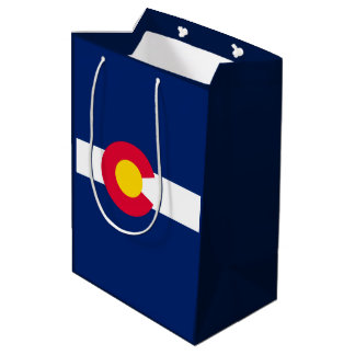 Colorado State Flag Design Medium Gift Bag
