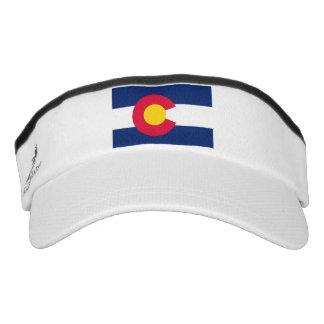 Colorado State Flag Design Visor