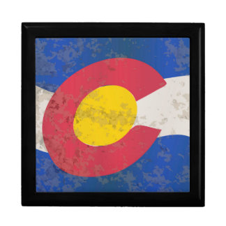 Colorado State Flag Gift Box