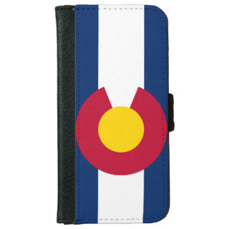 Colorado State Flag iPhone 6 Wallet Case