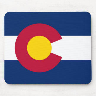 Colorado State Flag Mouse Mat