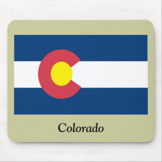 Colorado State Flag Mouse Pads