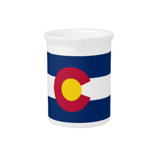 Colorado State Flag Pitchers