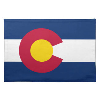 Colorado State Flag Placemat