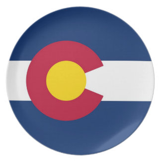 Colorado State Flag Plate
