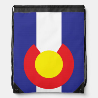 Colorado State Flag.png Drawstring Bag