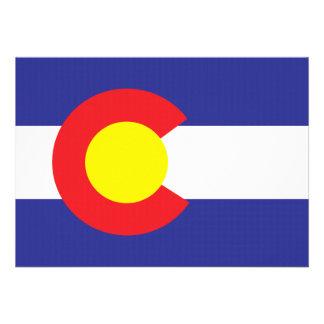 Colorado State Flag png Custom Invitation