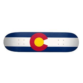 Colorado State Flag Skate Board Deck