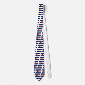 Colorado State Flag Tie