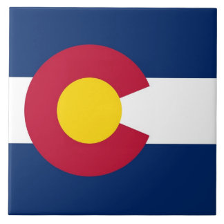 Colorado State Flag Tile