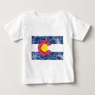 Colorado State Flag Vintage Baby T-Shirt