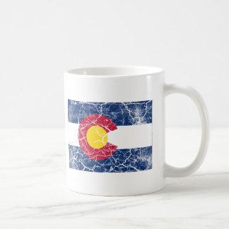 Colorado State Flag Vintage Coffee Mug
